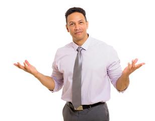 middle aged business man portrait