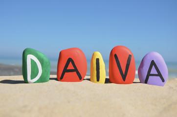 Daiva, lithuanian feminine name meaning destiny