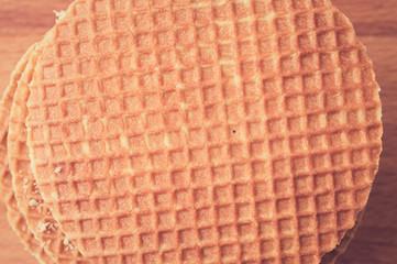 Tutu Dutch waffles closeup