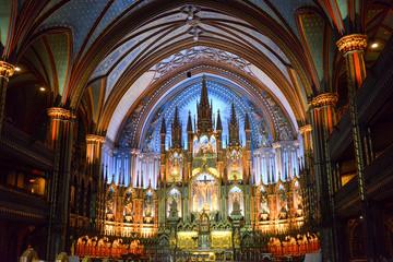 Notre Dame Basilica - Montreal, Canada