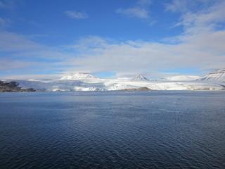 Norway Greenland Sea Spitsbergen Glacier