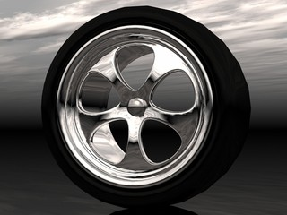 the wheel of drive