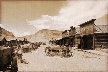 USA - Ghost town - Cody / Wyoming