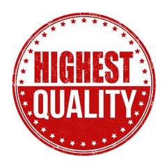 Highest quality stamp