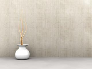 Concrete Interior .