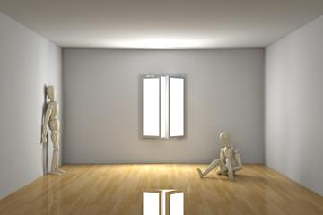 Empty room - Melancholic