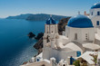 Leinwanddruck Bild - Panorama a Santorini 10