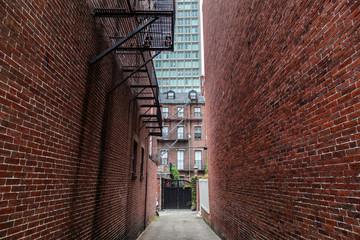 Dark Alley in Boston