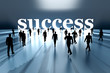 Walking towards Success.