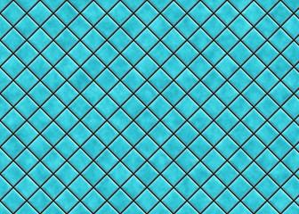 many bright square ceramic tile