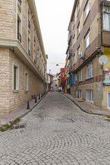 One of the streets in Istanbul