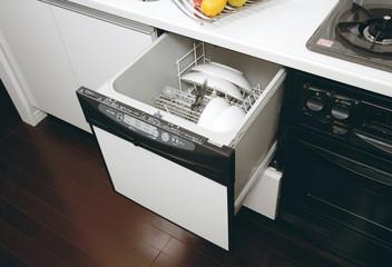 ビルトイン システムキッチン  食器洗い機 食器乾燥器