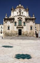 Matera Chiesa di San Francesco