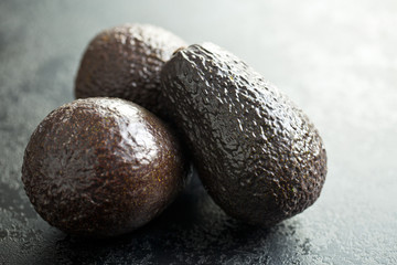whole avocados