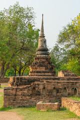 Small Pagoda in Ayutthaya province