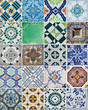 Leinwanddruck Bild - azulejos lisboa portugal oporto  0-f15