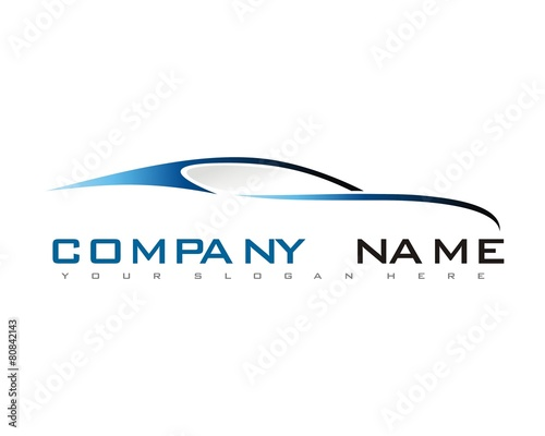 car vehicle transportation logo vector