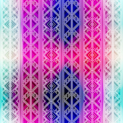 hipster bright seamless pattern