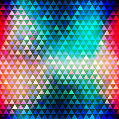 hipster triangle seamless pattern