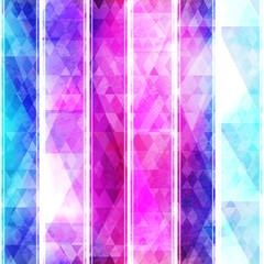 light triangle seamless pattern