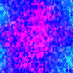 purple colored triangle seamless pattern