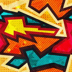 vintage cloth geometric seamless pattern
