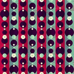 retro circle seamless pattern