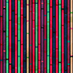 retro stripes seamless pattern with grunge effect