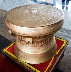 material bronze drums in vietnames