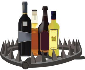 trappola alcolica