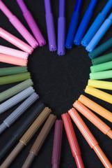 Pen heart