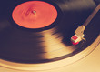 vinyl player, instagram retro style