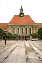 Railway station in Gorlitz. Germany