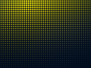 dark background with yellow spots