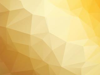 modern yellow brown white triangular background