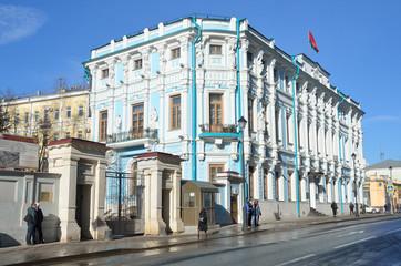Здание посольства Республики Беларусь в Москве
