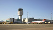 Airport Costa Smeralda in Olbia. Sardinia. Italy