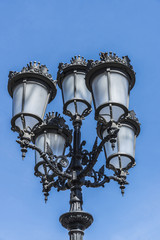 Street Light in Barcelona