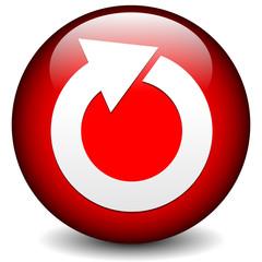 Red circular arrow icon.