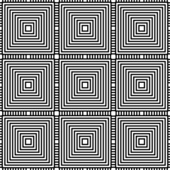 Squares Geometric Repeatable Background, Pattern.
