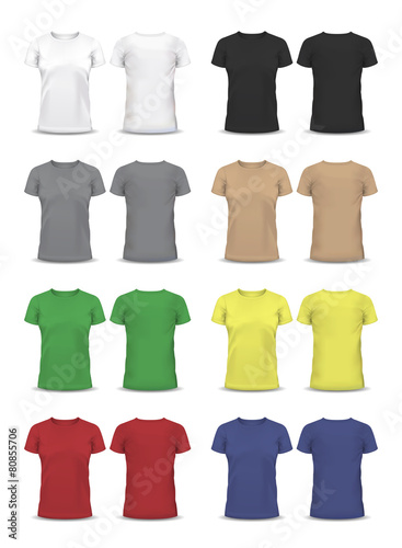 Vector T-shirt, Design template, , raglan sleeve, women and men