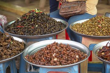 Market food in Cambodia
