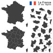 country France silhouette - 80856913