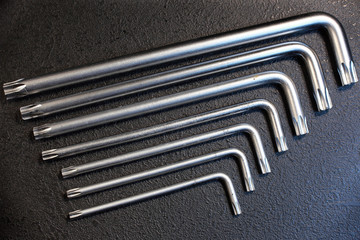 набор фигурных ключей
