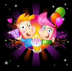 Invitation to birthday party.