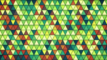 colorful glass triangles pattern seamless loop 4k (4096x2304)