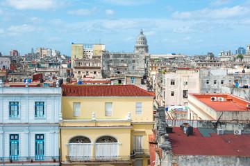 Old Havana on a beautiful summer day
