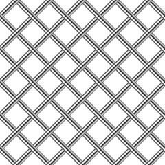 chrome metal grid diagonal seamless background
