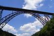 Leinwanddruck Bild - Müngstener Brücke