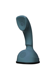 Grey Blue Cobra Telephone
